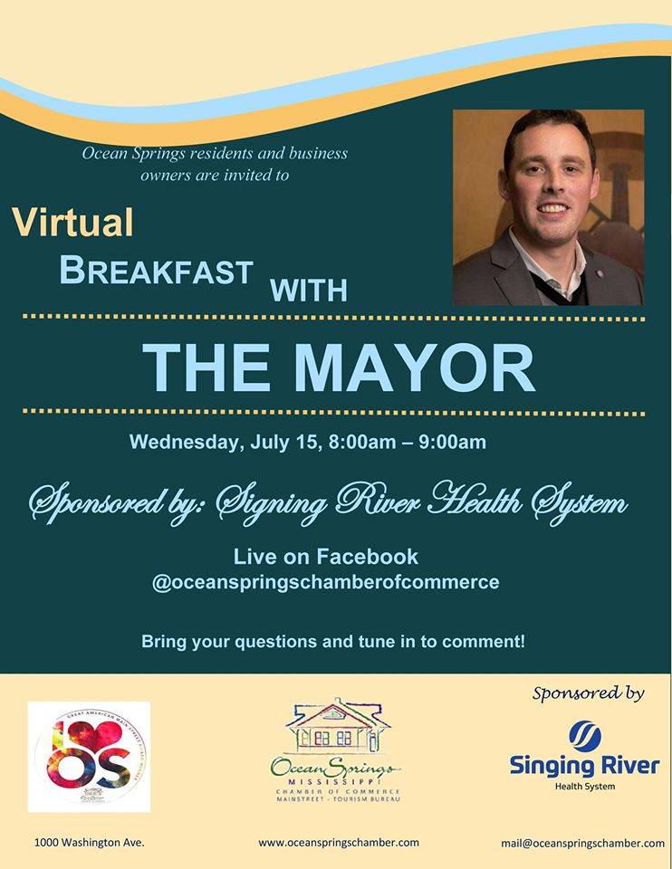 Virtual Breakfast with the Mayor