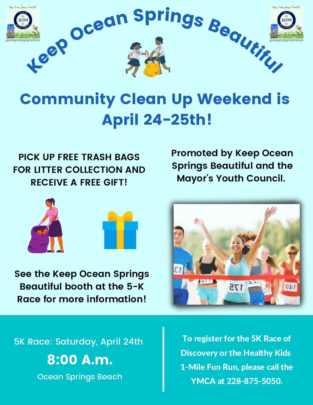 Keep Ocean Springs Beautiful April 24th Event